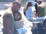 Chloe Green cuddled up to Jeremy Meeks as their luxury yachting holiday in Bodrum, Turkey, came to end on Saturday