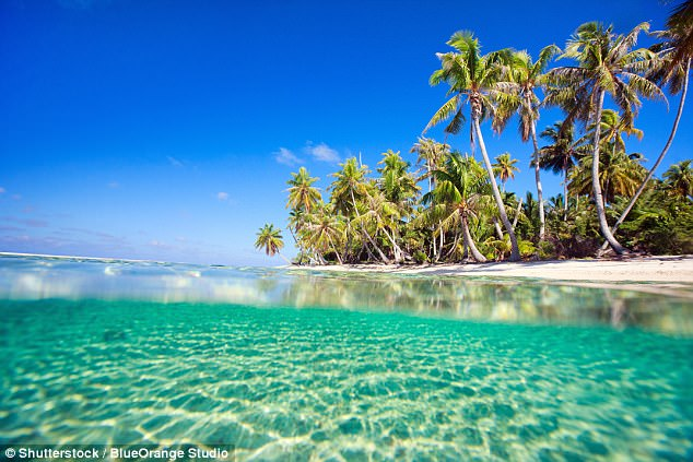 The stunningTikehau Island in French Polynesia is a coral atoll celebrated for its white and pink-sand beaches