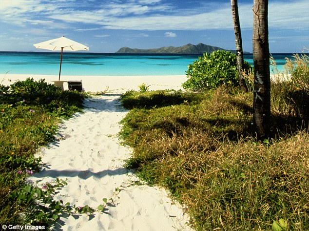 Pamalican Island in the Philippines, which measures just 1.5 miles across and is set in the middle of a coral reef, is another of the publication's favourite beaches