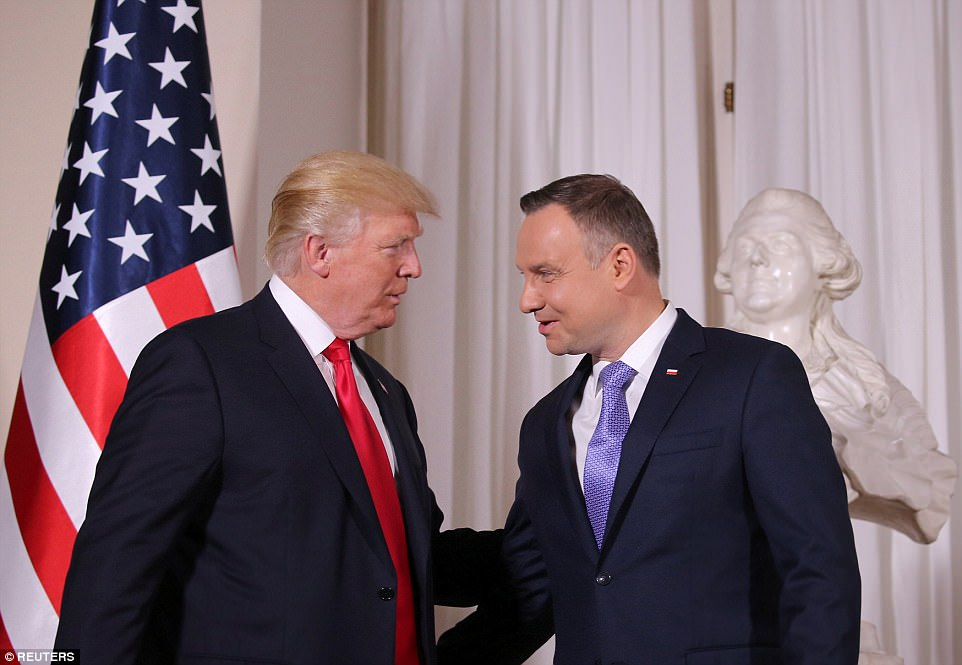 Like the Trump administration, Duda's government is staking its claim on a desire to limit the numbers of refugees it resettles even as European Union leaders press Warsaw to open its borders
