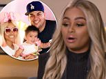Speaking out:Blac Chyna claimed in an interview with ABC News (above) that Rob Kardashian physically abused her in April of this year