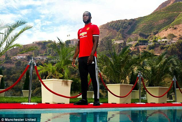 The £75million transfer fee means Lukaku is now the most expensive striker in English history