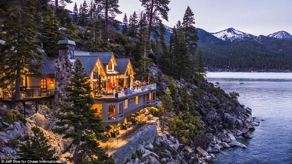 Buy Lake Tahoes Most Expensive Ever Home For 75m Daily