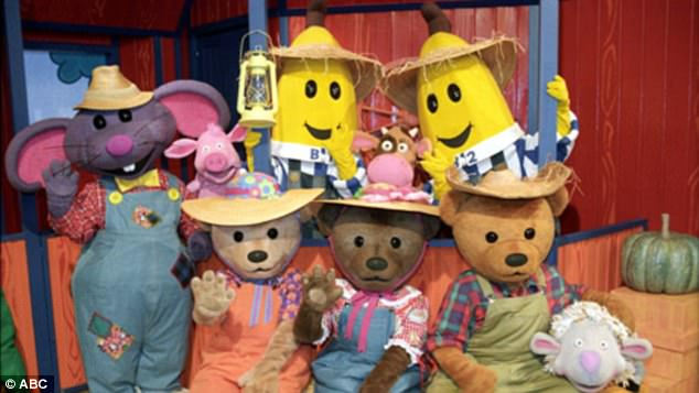 The Original Bananas In Pyjamas Cast 25 Years On Daily Mail Online