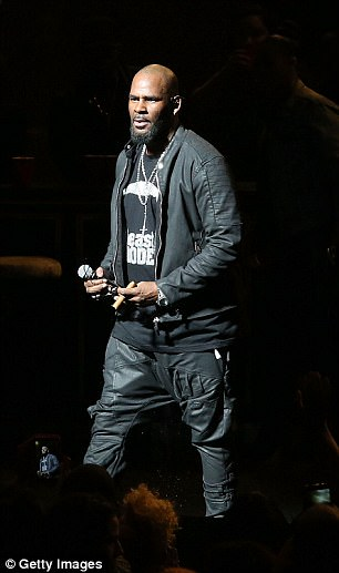 R. Kelly performs in concert at The Bass Concert Hall on March 3, 2017 in Austin, Texas