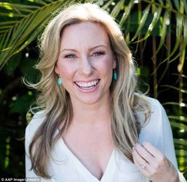 Investigators are seeking a white male cyclist aged 18-25 who was cycling around the area when Australian woman Justine Damond (pictured) was shot, and who was at the scene watching officers Mohamed Noor and Matthew Harrity try to resuscitate her