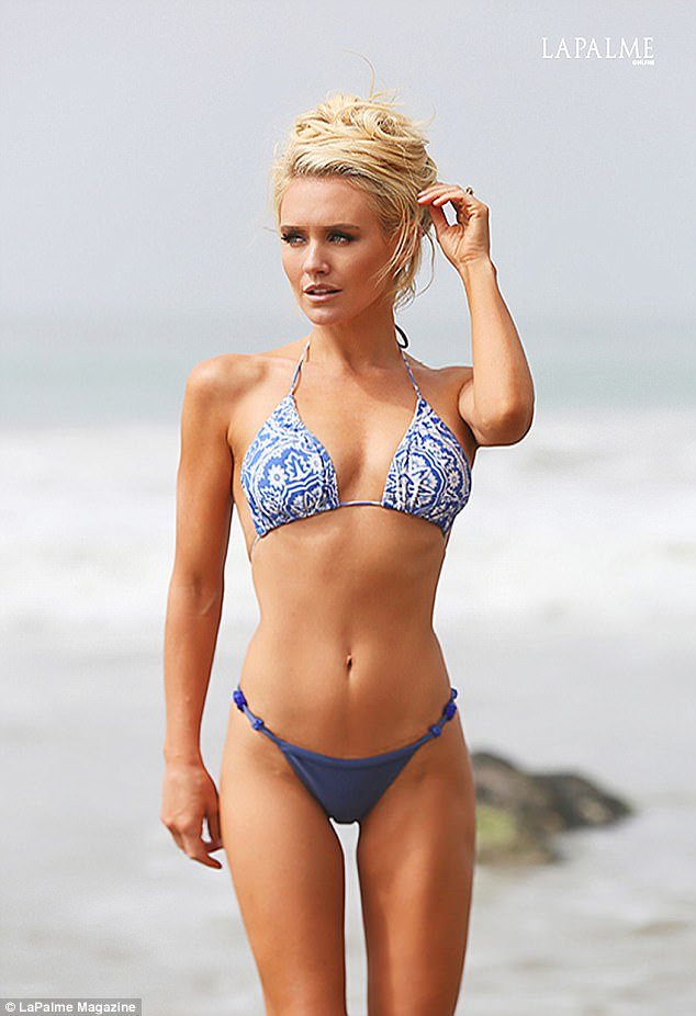 Nicky Whelan Went Back To Her Bikini Modelling Roots This Month As