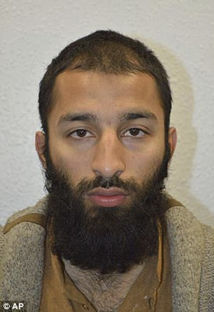 Khuram Butt was shot after leading a massacre at London Bridge last month. He has been buried in secret in east London