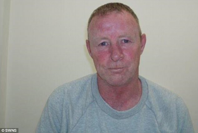 David Stevenson, 53, from Carlisle, Cumbria, was jailed for nine years in 2006, for raping a 'vulnerable' girl and after his release in 2011, he preyed on a four-year-old girl