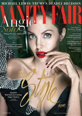Wow:Angelina Jolie has addressed the split from Brad Pitt in a in-depth interview for the September issue of Vanity Fair