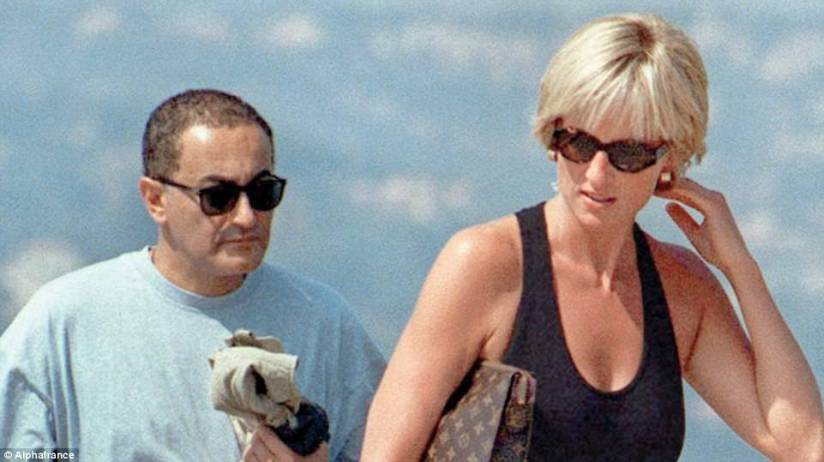Richard Kay, the writer who knew Diana best, and his colleague Geoffrey Levy bring you the full untold story of her love affair with playboy Dodi Fayed. Pictured: Dodi and Diana in St Tropez just nine days before they died