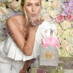 Candice Swanepoel Sizzle In White For Fragrance Launch