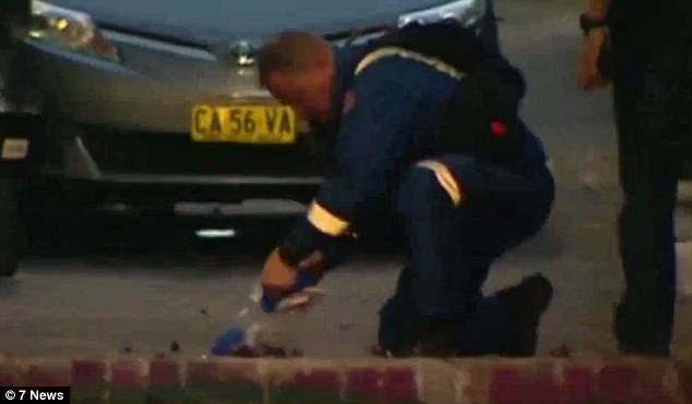 About 40 heavily-armed police (pictured) raided a Surry Hills home on Cleveland Street just metres from Redfern Mosque