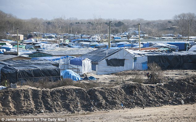France's highest administrative court ruled the government and Calais must provide hundreds of migrants with drinking water, showers and toilets (file photo of 'The Jungle')