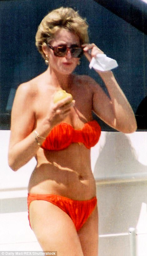 How Diana Made Swimsuits Sexy Daily Mail Online