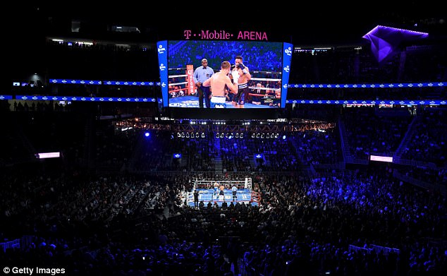 The Arena is fast becoming one of the most prestigious boxing venues in Las Vegas