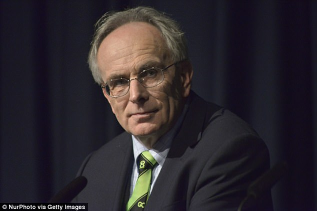 Backbench Tory MP Peter Bone (pictured) said: 'How can this possibly be the right thing to do? It's one thing to give money to help Syrian refugees near to conflict zones. It's another entirely to give £80million to the world's ninth-largest economy. In fact it's nuts'