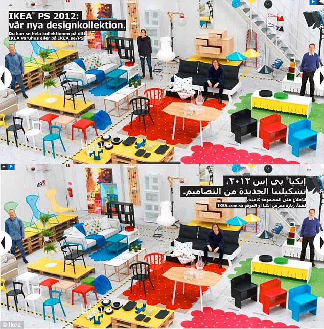 How Ikea Adapts Its Catalogues For Different Countries