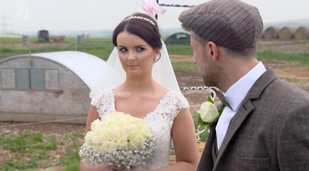 Steph refused to speak to Billy when she greeted him at the altar telling him he'd done everything wrong