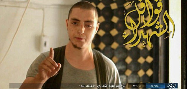 A terrifying list of 173 ISIS assassins prepared to carry out attacks in Europe has been found in Iraq. A German was on the list, named asSami J. (pictured), 27, from Solingen, formerly a leading member of the Islamist group Fillatu Ibrahim