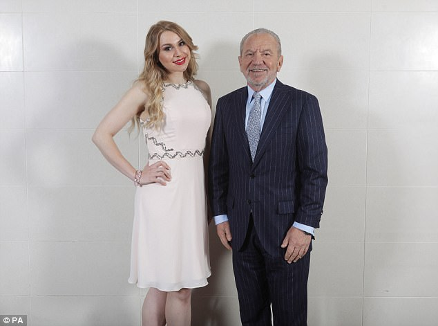 Alana beat Courtney Wood in the final of the 2016 series of The Apprentice to become Lord Sugar's business partner