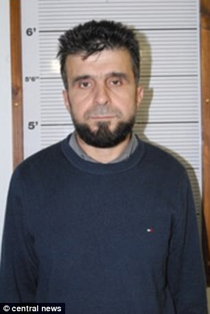 Awat Hamasalih, 35, was jailed for six years for membership of a terrorist organisation