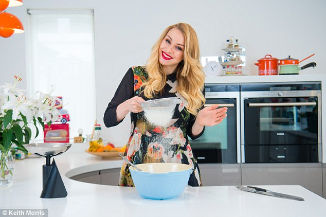 Alana Spencer (pictured) launched her Ridiculously Rich by Alana cake business earlier this year