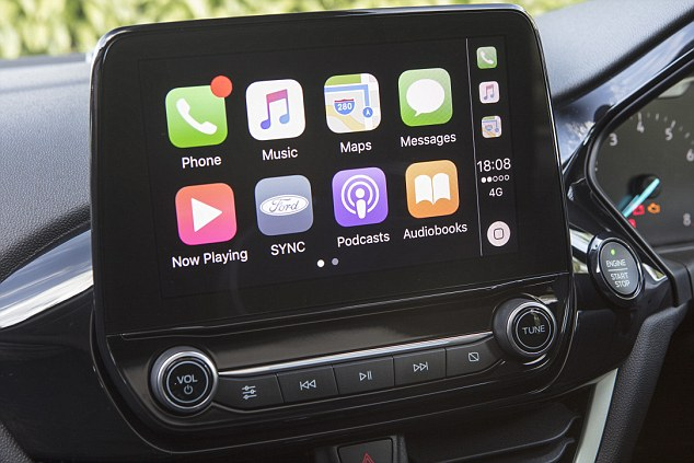 Tech: There's lots of standard kit, including a 4.2 in digital instrument cluster, traffic sign recognition, an 8 in tablet-style central touch screen for entertainment