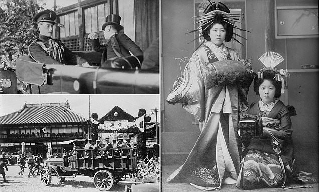 Photos Show Life In Japan In The Early 20th Century