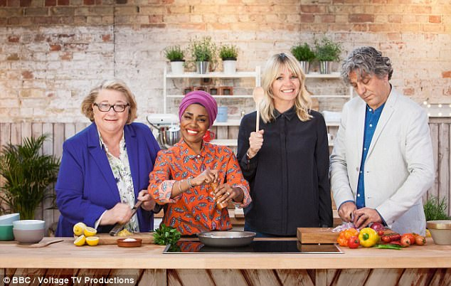 Feeding four for £10, inviting the judges into their own kitchens, rustling up dishes to impress the neighbours – the BBC's new family cookery contest has all the right ingredients, say its presenters, Rosemary, Nadiya, Zoe and Giorgio