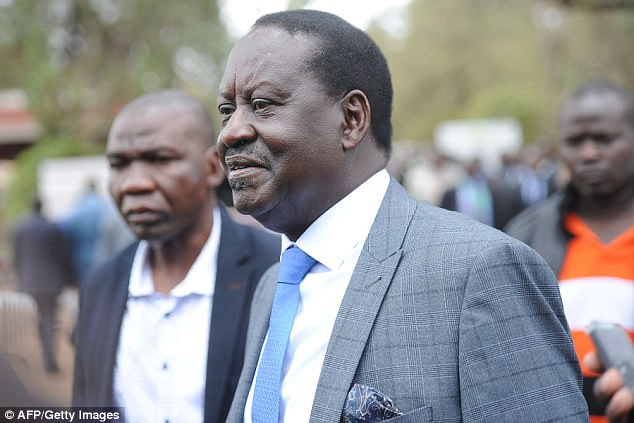 Raila Odinga rejected the initial polls showing Kenyatta would win saying that the official tally doesn't match their own count