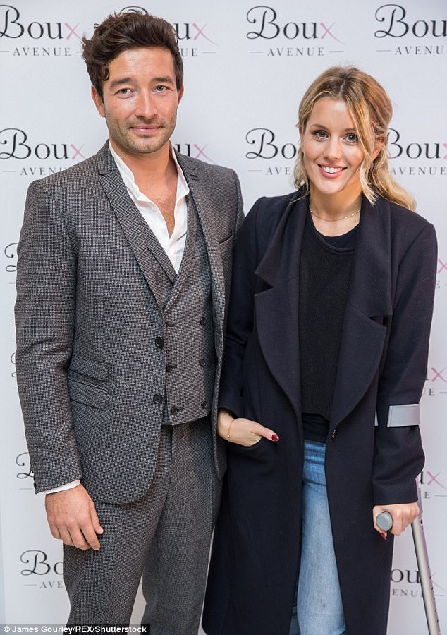 Interlinked: Proving that Made In Chelsea's convoluted love triangles aren't just onscreen, Funda and Scott began dating in 2016, a year after he was linked to her love rival Caggie