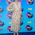 Paris Jackson Debuts New Look at The 2017 Teen Choice Awards