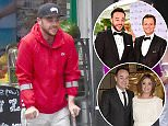 Ant McPartlin, pictured on a rehab day out, said he was rushed to hospital in a 'drug-induced psychosis' due to his addiction