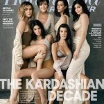 Kardashian/Jenner Clan On The Cover Of The Hollywood Reporter