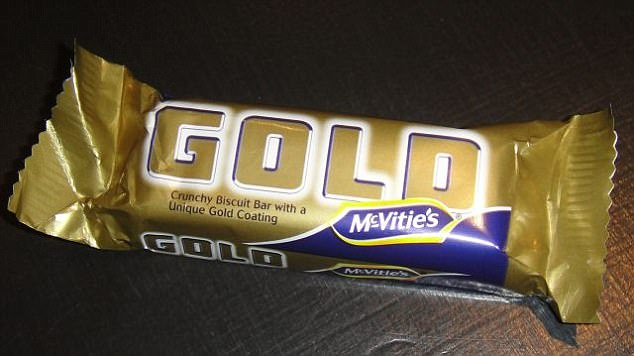 McVitie's Gold bars - crunchy biscuit bars with a caramel flavour coating - are still popular among the sweet toothed