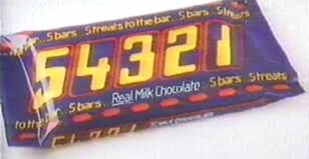 It may have only hit shelves in the 1980s before finally being discontinued in 1989 but it seems that people fondly remember 54321 bars