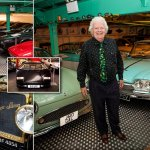 Rodger Dudding Has Britain S Biggest Car Collection Daily Mail Online