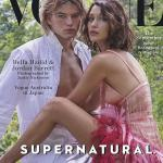 Bella Hadid & Rumored Beau,Jordan Barrett On The Cover Of Vogue Australia