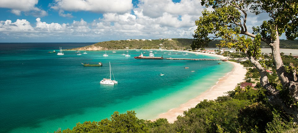Lesser visited than celebrity hotspot St Bart's, the island is seeing an increasing number of glamorous new holiday homes pop up, so its popularity - and prices - are bound to grow