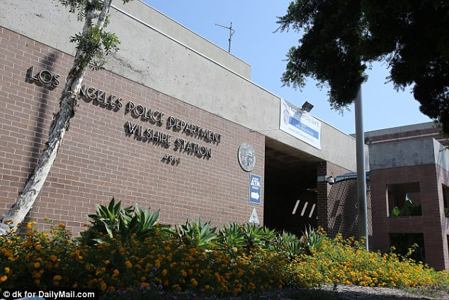 Police Headquarters where Palmitessa was taken and released from after being arrested