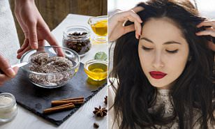 natural beauty products for skin teeth hair loss daily mail online