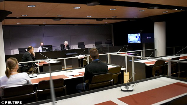 He appeared via video link at a court in Turku, where the horrific stabbing frenzy happened on Friday