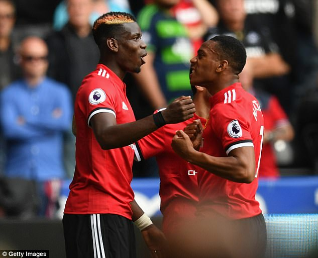 Pogba has impressed at the start of the new campaign as United have set the early league pace