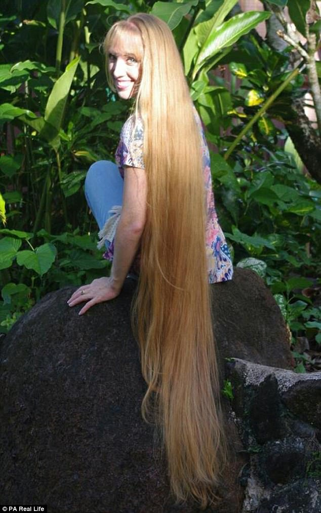 Real Like Rapunzel Has 64 Inch Hair She Refuses To Get Cut