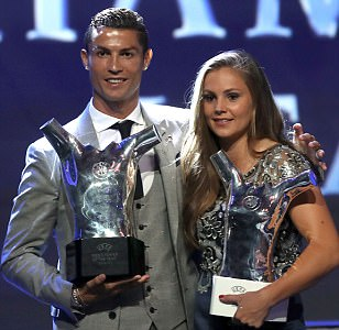 Cristiano Ronaldo beats Lionel Messi to UEFA Best Player