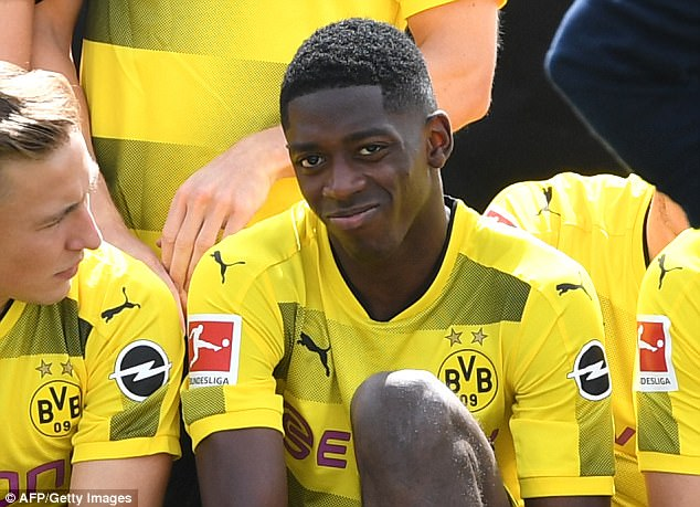 Talented youngster Dembele looks set to join Ronaldo soon in La Liga, signing for Barcelona