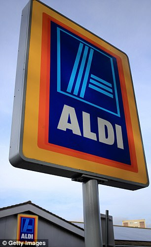 A file photo of an Aldi store