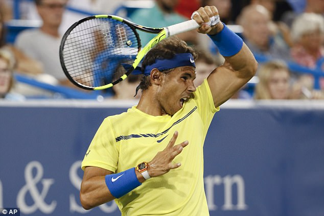Two-time US Open champion Rafael Nadal entered the 2017 US Open as the No 1 seed