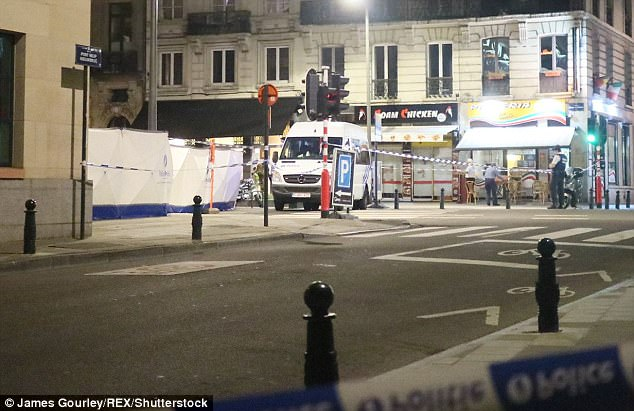 Police simply said 'soldiers at the scene responded' after the attack